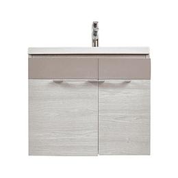 Mueble De baño elipse plus 60 cm con lavamanos - Corona