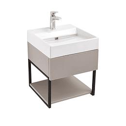 Mueble fussion plus 45 cm con lavamanos color taupe - Corona