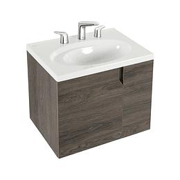 Mueble elipse vital 60 cm con lavamanos 8 pulgadas - Corona