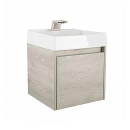 Mueble fussion ceniza con lavamanos 45 cm - Corona
