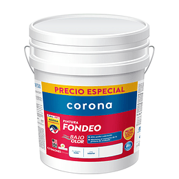 Pintura fondeo blanco 4.5 gl - Corona