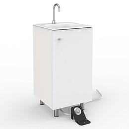 Estación de lavado autocontenida piso - Corona