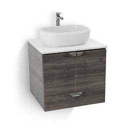 Mueble cascade con lavamanos vessel - Corona