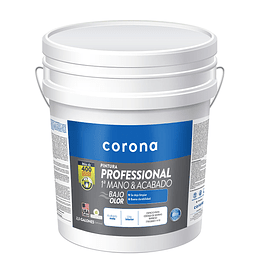 Pintura professional 1 mano y acabado blanca 1/2 - Corona