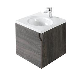 Mueble elipse vital 45 cm con lavamanos - Corona