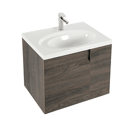 Mueble elipse vital 60 cm con lavamanos - Corona