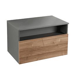 Mueble plus vessel 70 cm coronastone izquierdo - Corona