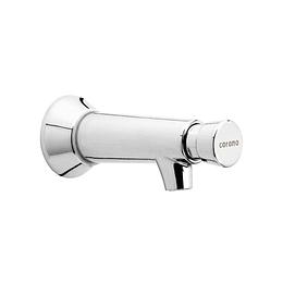 Grifería para lavamanos institucional push pared - Corona