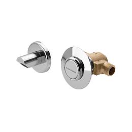 Grifería para lavamanos institucional de empotrar push pico seguridad - Corona