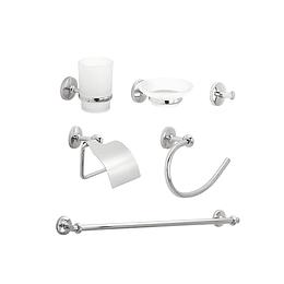 Kit por 6 accesorios venecia - Corona