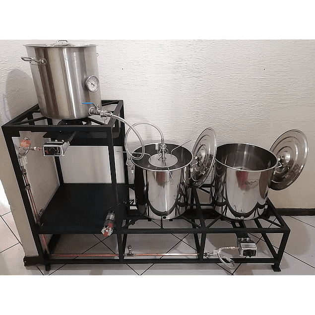 Nanobrew 20. Mini planta cervecera 20 litros