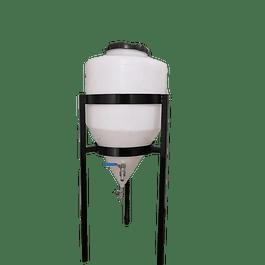Fermentador Conico 160 litros con Atril