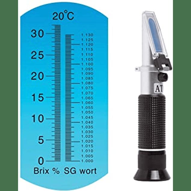 Refractometro SG/Brix