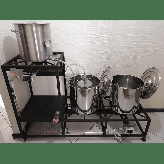 Brewmonster 60 (Mini Planta de 60 litros efectivos)