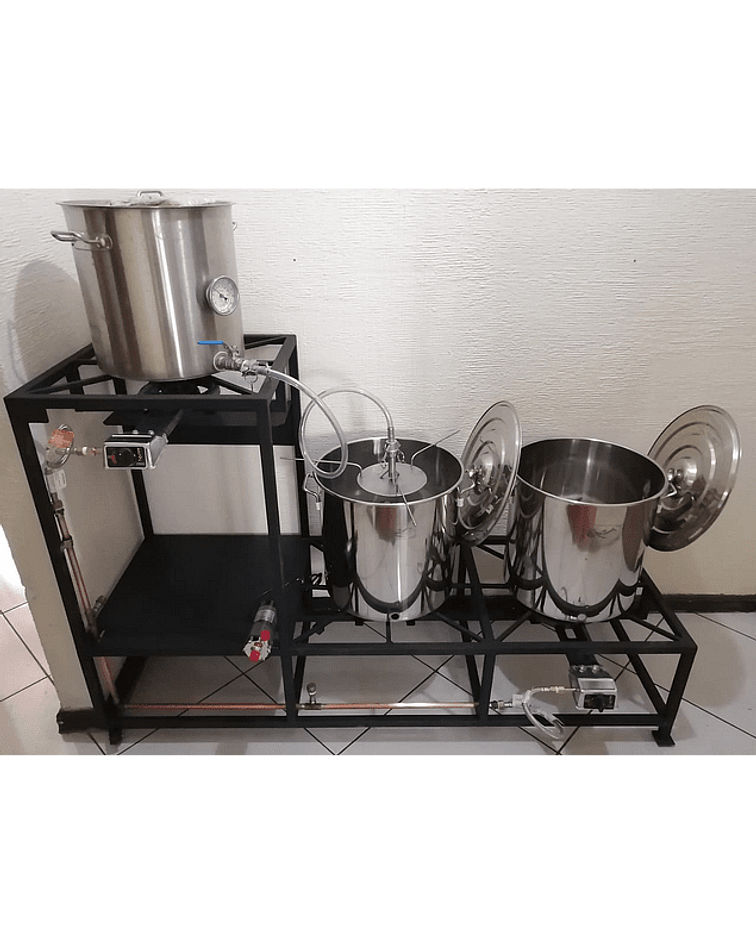 Mini planta cervecera 50 litros