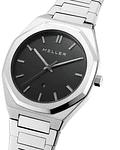 Reloj Daren Black Silver