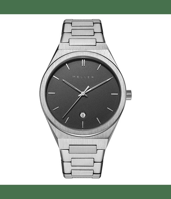 Reloj Nairobi Black Silver