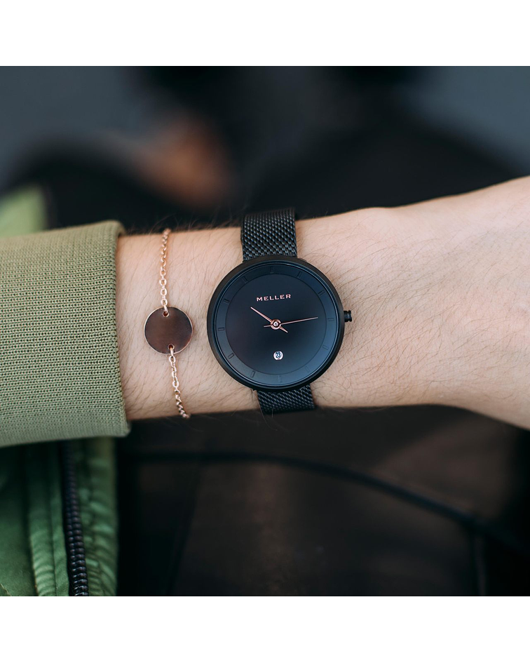 Reloj Niara Baki Black