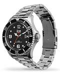 Reloj ICE steel - Black Silver - Large - 3H