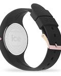 Reloj ICE glam - Black Rose-Gold - Small - 3H