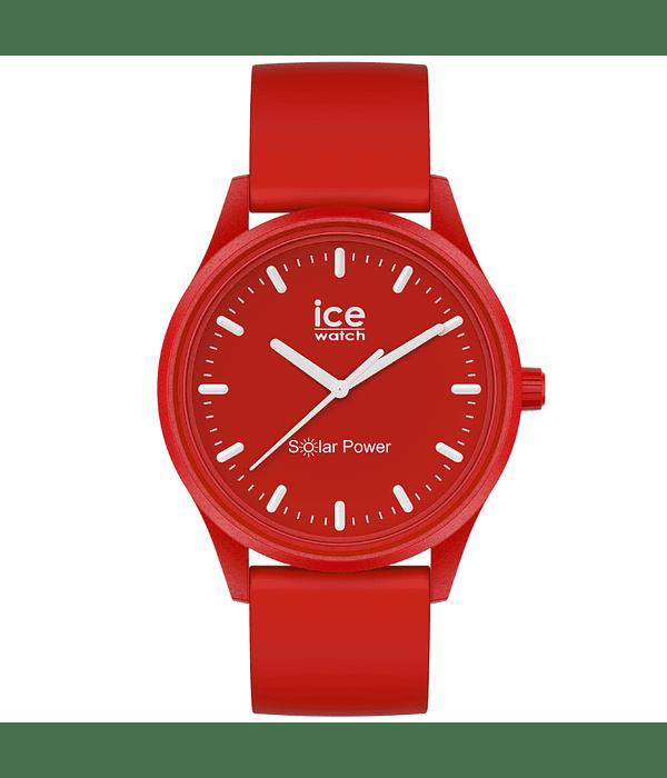 Reloj ICE solar power - Red sea - Medium - 3H