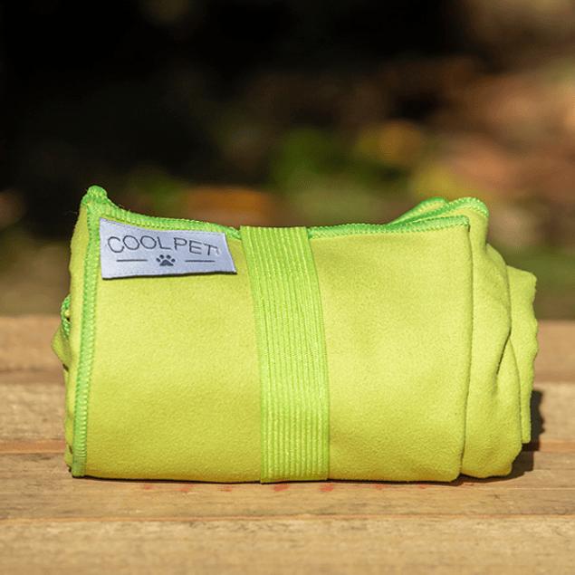 Toalla Microfibra Verde Mediana