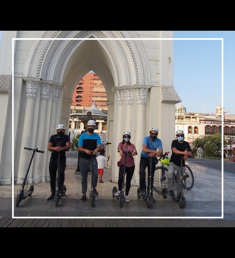 City Tour Scooter Eléctrico Iquique