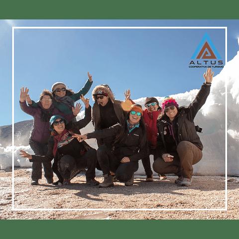 Isluga volcano national park tour