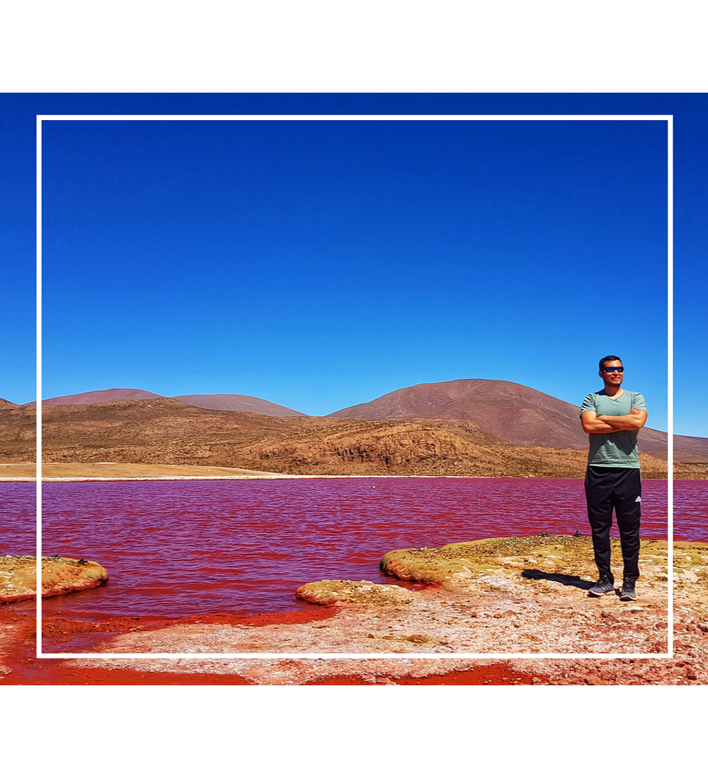 Tour Laguna Roja y quebrada de Camiña 2 días y 1 noche