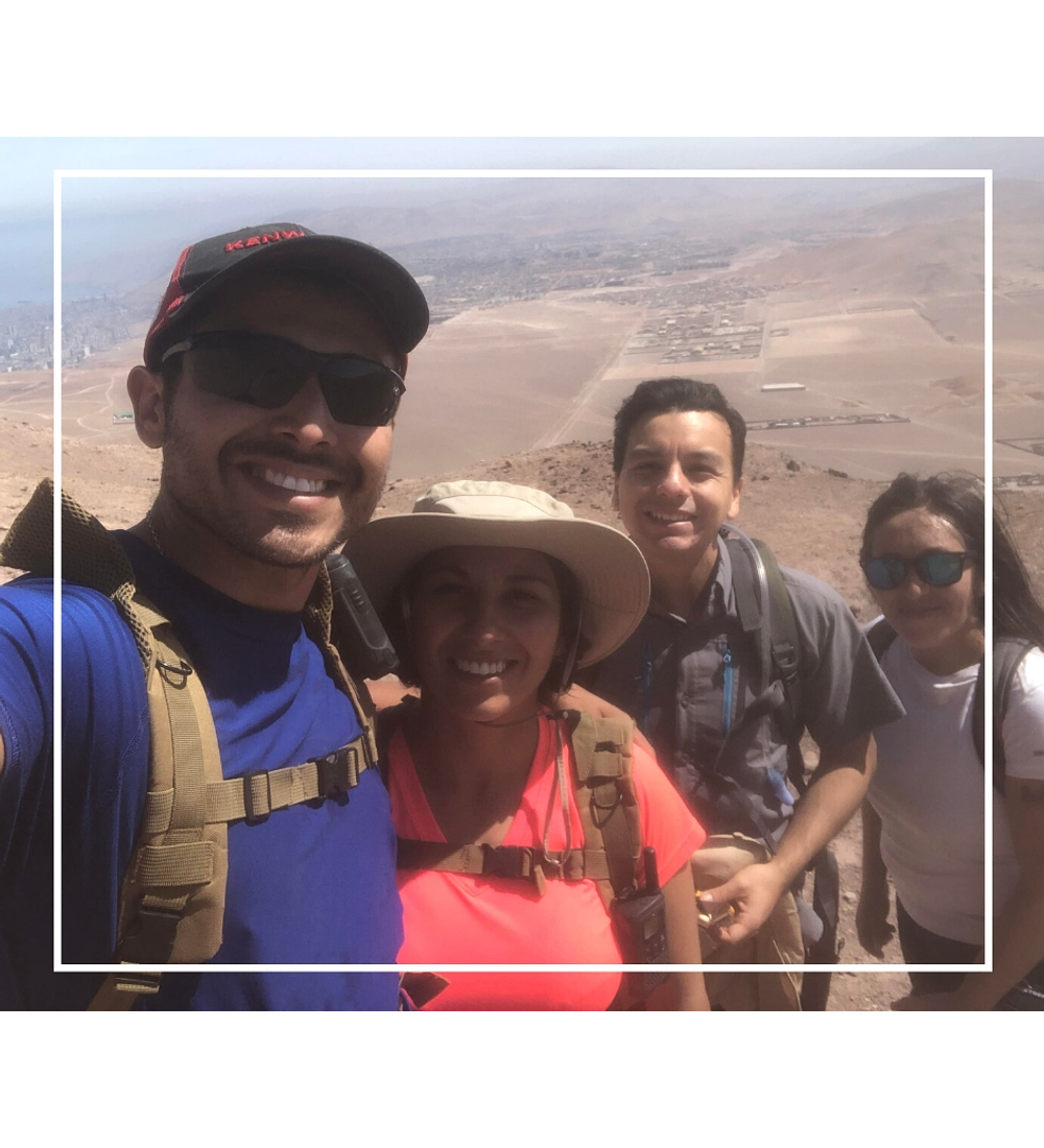 Trekking Cerro Tarapacá