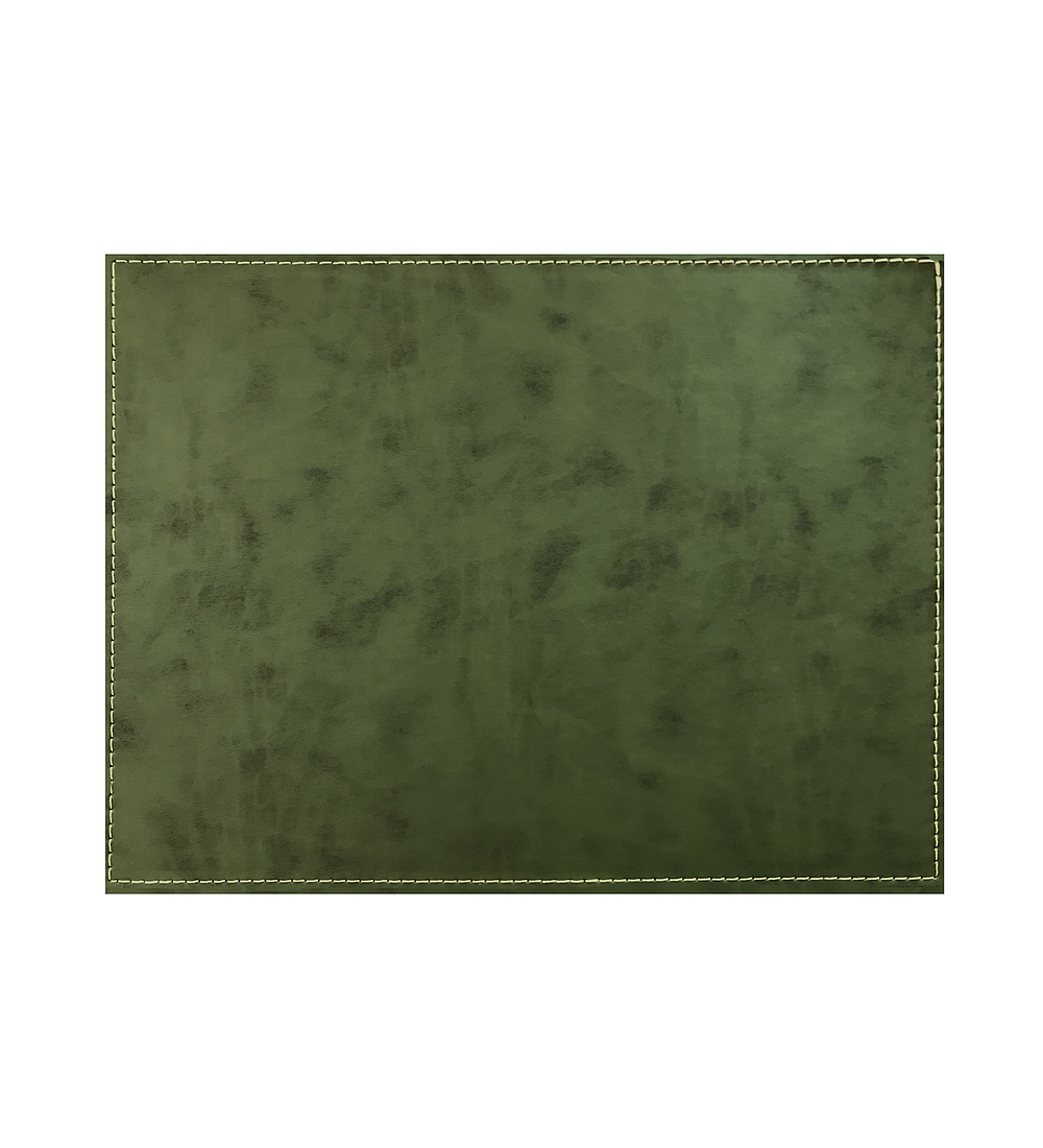 Set 4 Individuales Verde