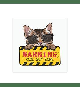 Warning Cat