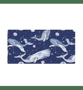 Office Pad Constelación de Ballenas