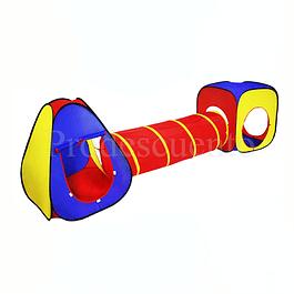 Carpa Con Tunel Para Niños Y Niñas