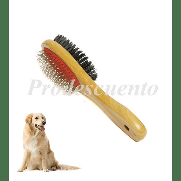 Cepillo Para Mascotas Doble Faz