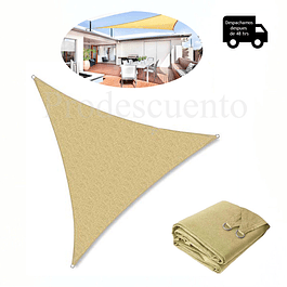 Toldo Vela Triangular 5x 5
