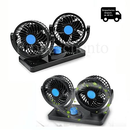 Ventilador Doble Para Auto