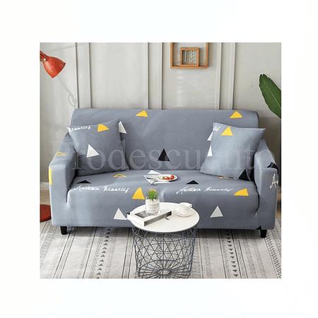 Funda Elasticada Sofa Gris