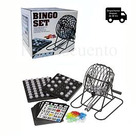 Juego Bingo Tómbola Deluxe Con 75 Numeros