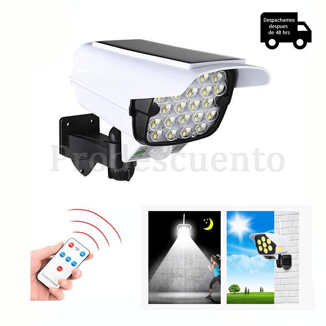 Foco Solar Tipo Camara Con Sensor De Movimiento