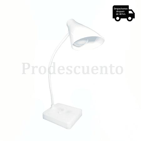 Lámpara Led Cono Flexible De Mesa