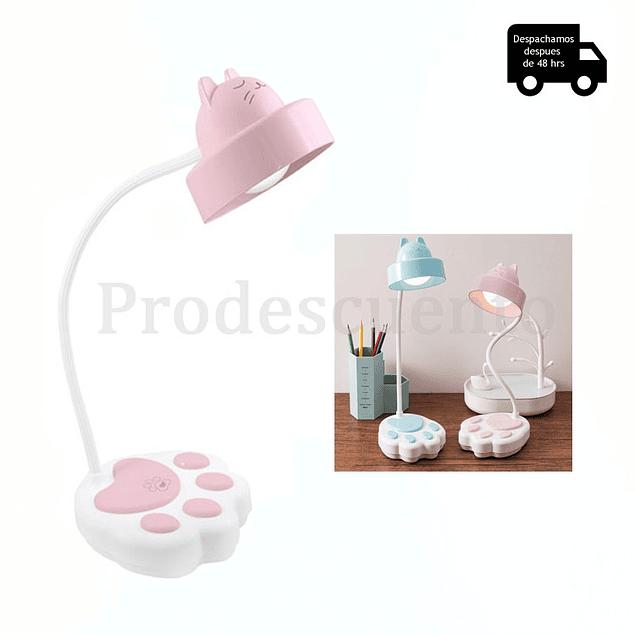 Lámpara Led De Gato Para Escritorio
