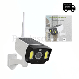 Foco Solar Con Camara Simuladora