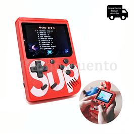 Mini Consola Portatil Con 400 Juegos
