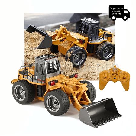 Tractor Excavador A Control Remoto