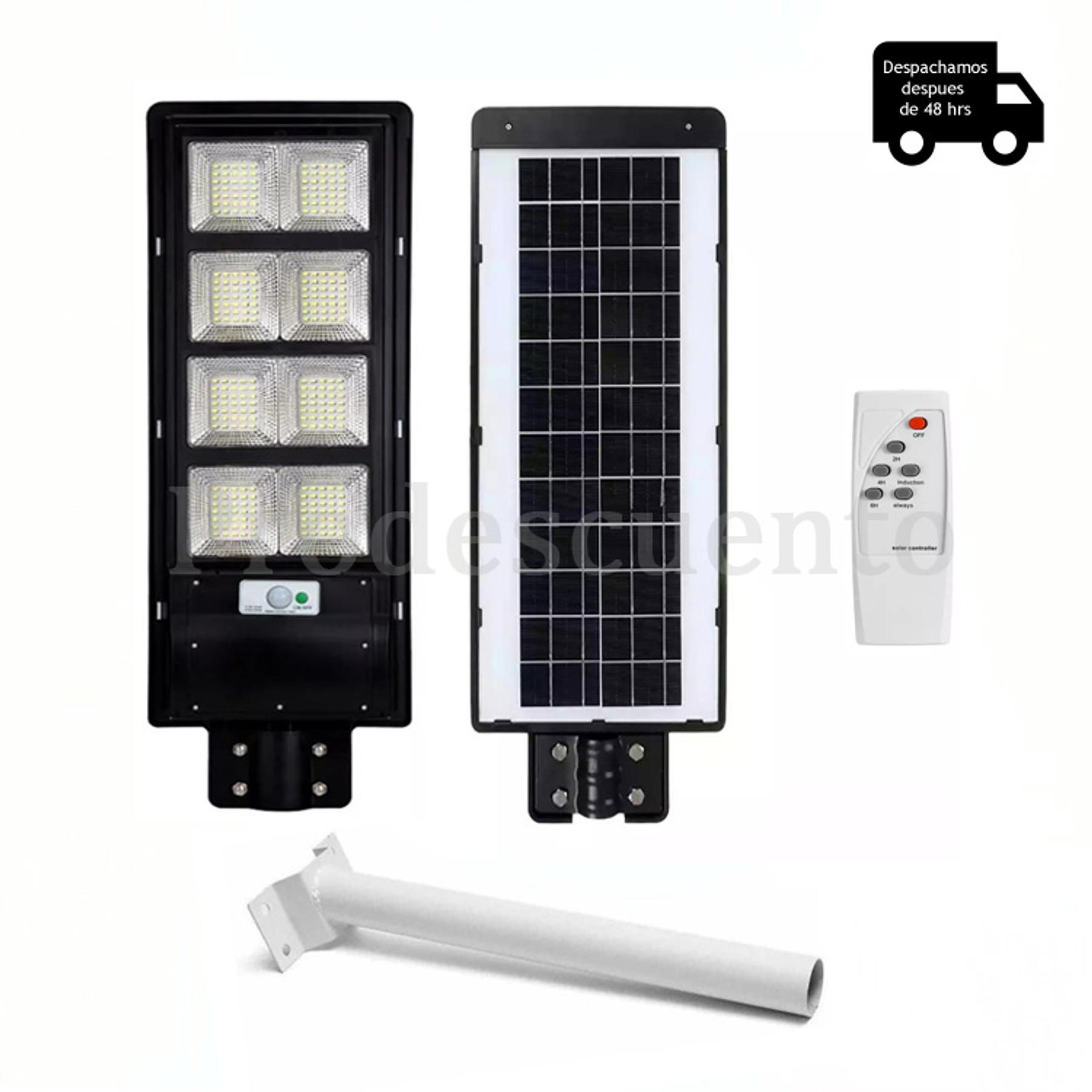 Lampara Solar 200W Con Soporte