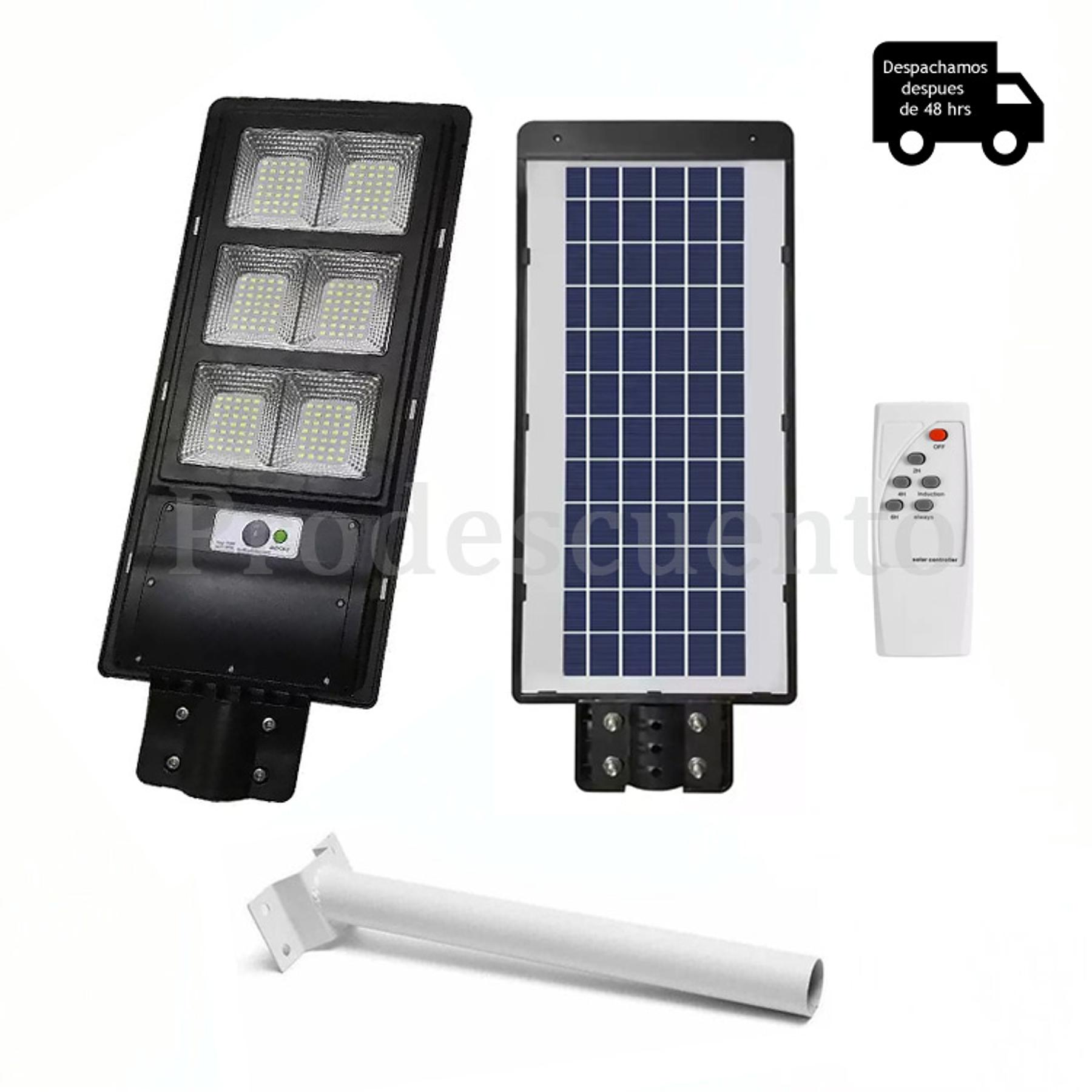 Lampara Solar Led 120W Con Soporte