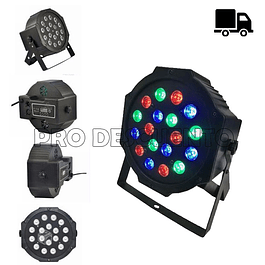 Luz de Color de 18 LED para Fiestas