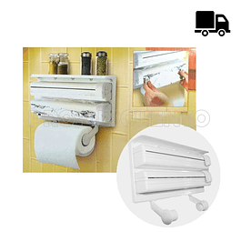 Dispensador Triple de Papel
