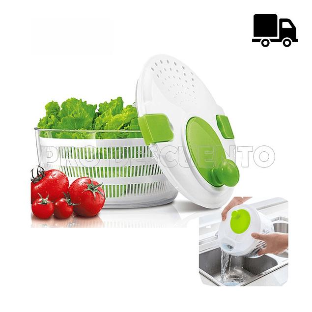 Secador y Colador de Verduras
